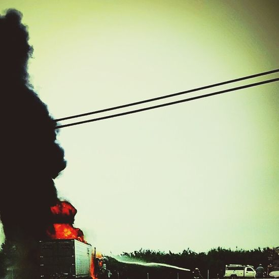 The Street Photographer - 2016 EyeEm Awards Burst Of Flames Semi Fire Accidents Happen Close Call Fireman Putting Out Fire Helping Hands Up In Smoke