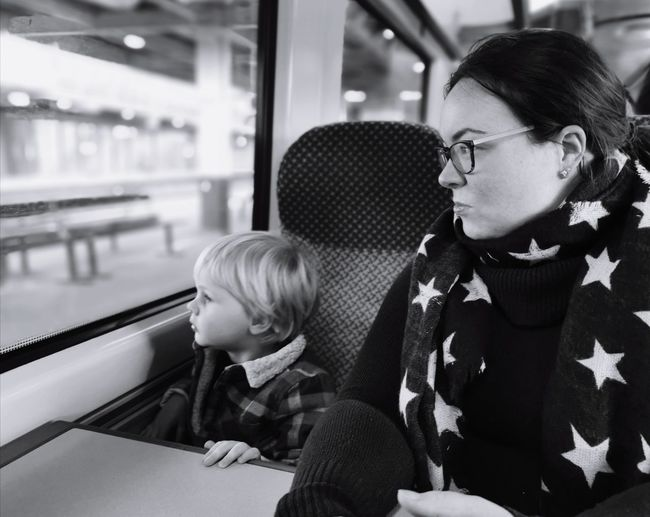 Thoughts on a train