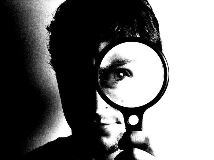 One Person Human Face Adults Only Human Body Part Adult People Looking At Camera Young Adult Human Eye Eyesight Blanco Y Negro Black And White Indoors