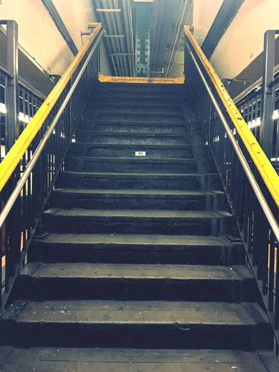 Railing Staircase Steps And Staircases The Way Forward Direction Transportation Connection