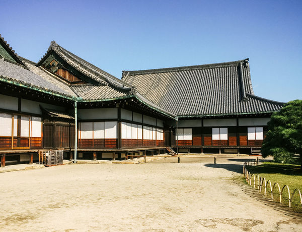 Castle Japan Architecture Building Exterior Built Structure Clear Sky Day No People Outdoors Roof Shogun Sky