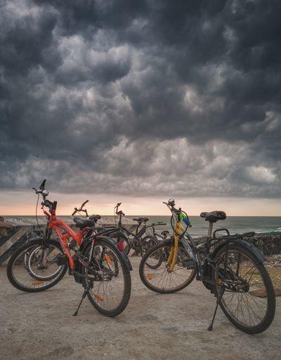 Dramatic stormy