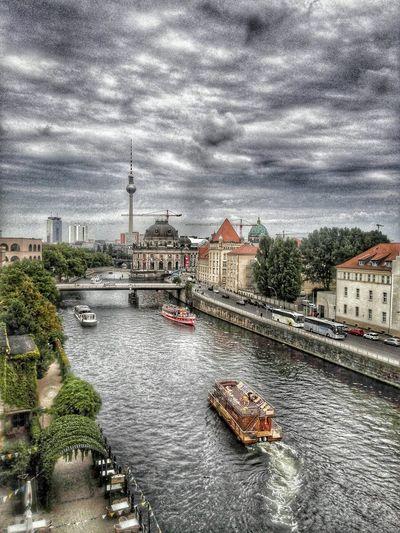 Spree River Tvtower Museum Island ILoveMyCity Seeing The Sights Capture Berlin