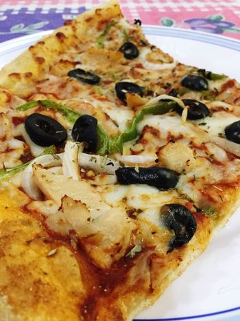 Pizza for breakfast Simplefood Enjoying Life Cheese!