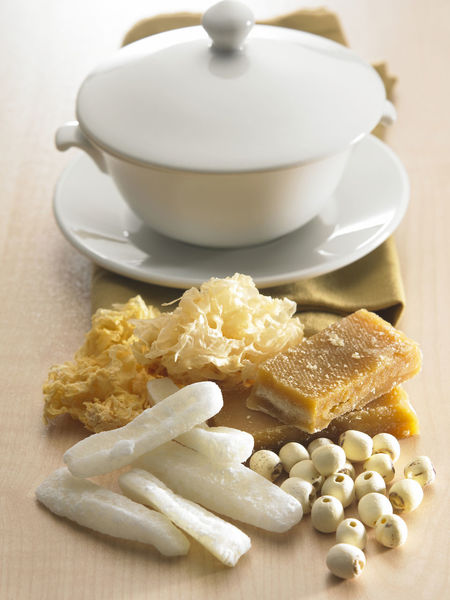 chinese herbal soup Chinese Food Healthcare Lotus Seed Medicine Bowl Chinese Herb Close-up Food Food And Drink Healthy Eating Indoors  No People Rock Sugar Still Life Wellbeing White Fungi Winter Melon