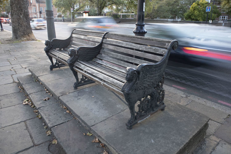 A bench in