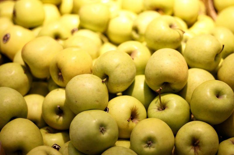 Full frame shot of fruits for sale in market
