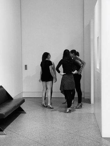 Real People Indoors  Rear View Women Girls Blac&white Monochrome Iphn Photography Iphonephotography IPhoneography IPhone 7 Plus