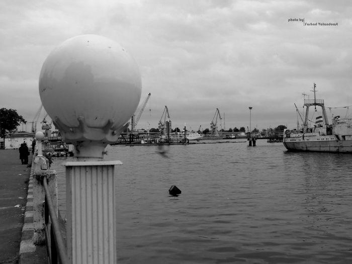 Canon Sx50 Canon Port Of Anzali Iran Guilan 😊💝😏 Good Night Iran Street Photography Iran City Anzali,gilan, Iran Ship Port بندر_انزلي گیلان کشتی Blak And White