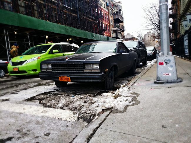 Car Elcamino Cool Street Photography The Human Condition New York Brooklyn Williamsburg NYC Vintage
