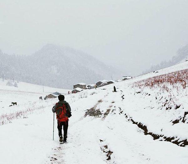 Soul searchin' Khali gaun 3685m . 7hrs hike from jumla