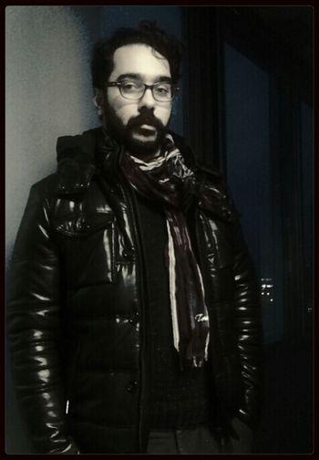 Black&white Darknight Portrait Radio Station