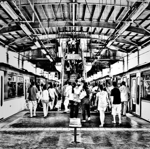 At MRT 3 (Taft Avenue Station)