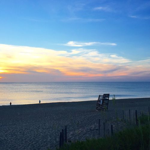 Check This Out Sunrise Lifeguard Stand OBX Beach ☀️🌊🌾