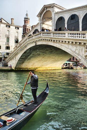 Scenics OpenEdit Venice, Italy Italy Gondola Italia Venezia Travel Destinations Travel Photography Nikon Gondola - Traditional Boat Water Nautical Vessel City Gondolier Bridge - Man Made Structure Arch Canal