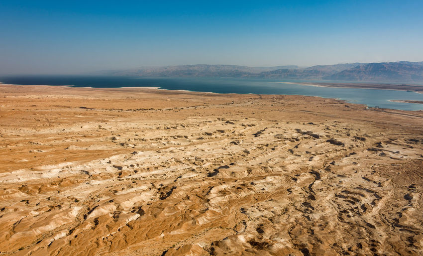 SCENIC VIEW OF THE ARIS CLIMATE AROUND DEAD SEA