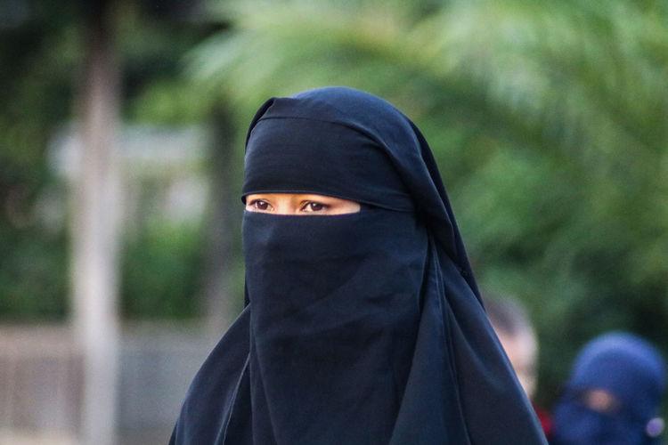 Women wear the veil