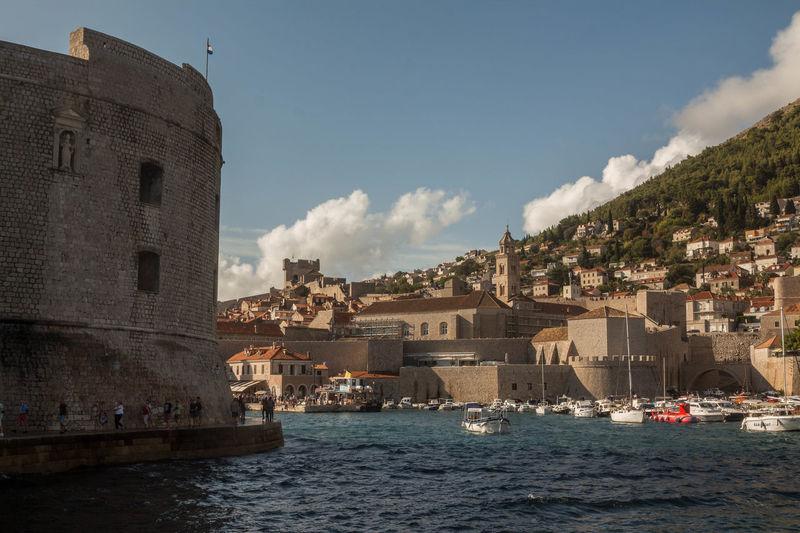 #croatia #dubrovnik Architecture Building Exterior Built Structure Cityscape Travel Destinations Water