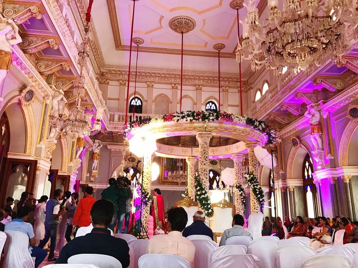 Royal Wedding In India 🇮🇳 Royal 👑 Palace Architecture Love My Family ❤ Full Enjoyment It's A Beautiful Day EyeEmNewHere Millennial Pink