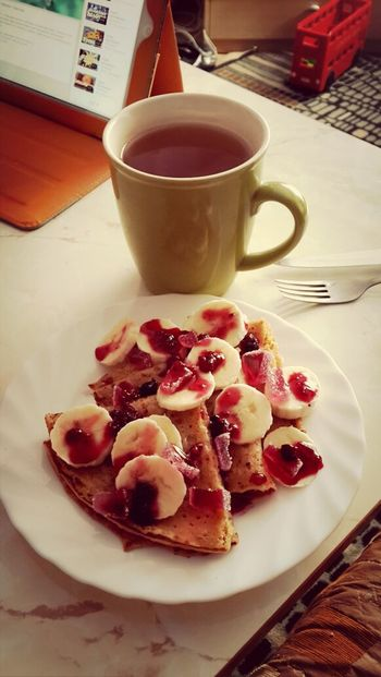 Breakfast Pancakes Gmorning Good Moning