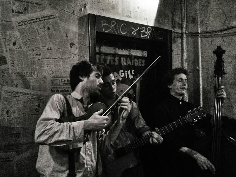 Gypsy Jazz Live Music Manouche Trio The Human Condition