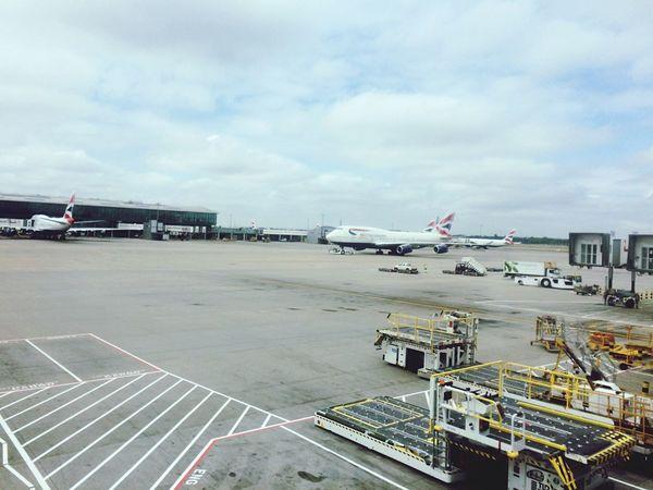 Airport Plane Flight London
