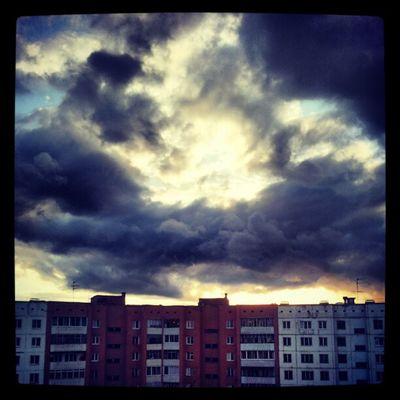 Тучи, небо и все такое ;-)