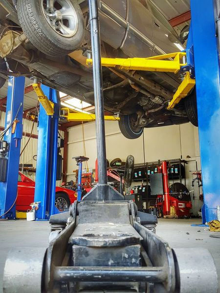 Need A Lift ~ Tools Of The Trade Tools Of The Trade Mechanic Garages Workshops Automotive Repair Repairs Automobiles Trucks Grease Monkeys Mechanics Perspective Abstract Working Vehicle Maintenance Lifts Jacks