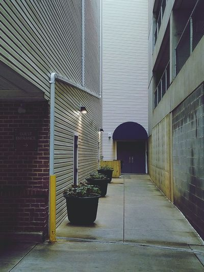 Alley in