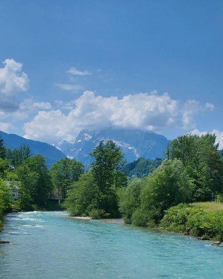 Perfect Green and Blue mix. Beautiful Nature . at the Salzbergwerk . Salz Salt Mine Museum . Badreichenhall Bavaria Bayern Deutschland Germany . Taken by my Sonyalpha DSLR Dslt A57 . متحف ملح طبيعة بايرن المانيا