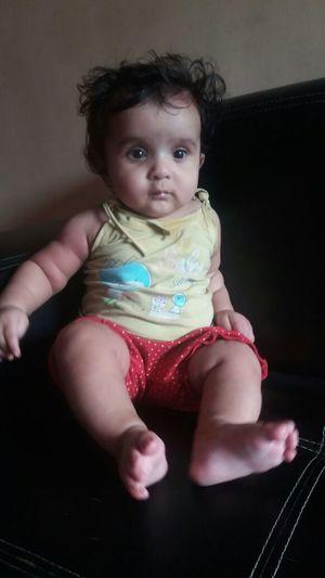 Baby Sitting Cute