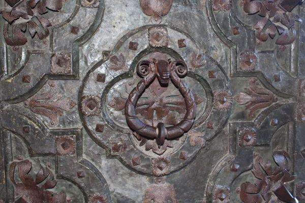 Girona Cathedral Detail Girona Gironamenamora