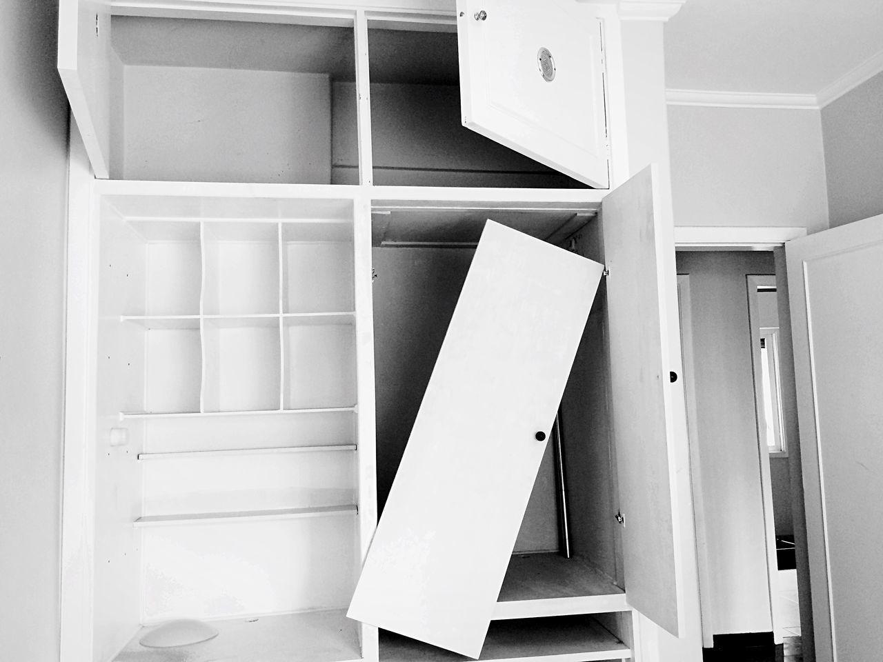 Broken cabinet at home