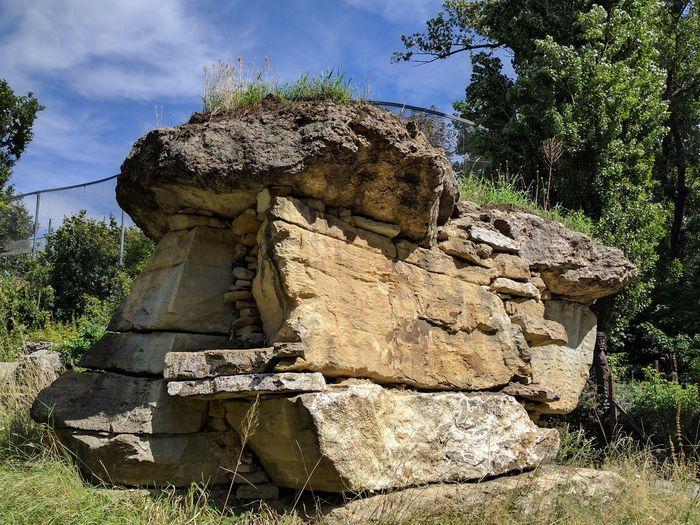 rock Stone Layers sunburst