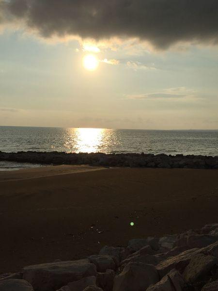 Sea Beach Scenics Horizon Over Water Tranquility Water