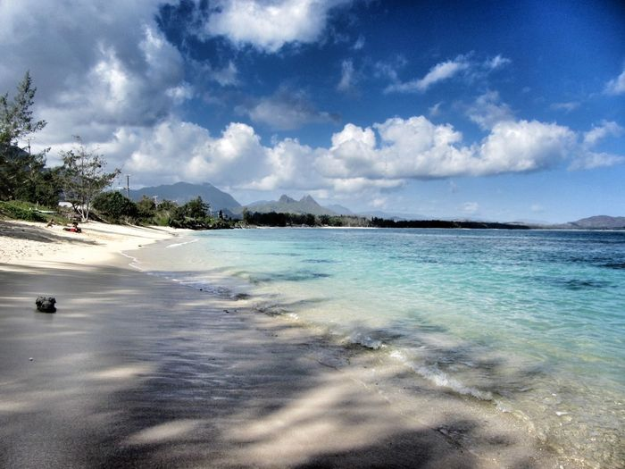 Hawaii Beachphotography Clouds Cloudsporn Sky And Clouds Beach Ocean Blue Sand Waimanalo Beach