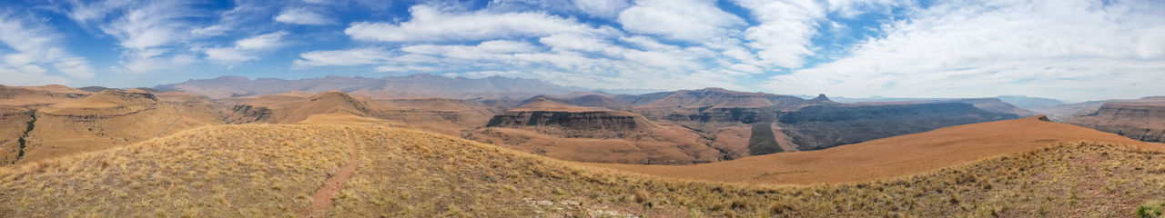 Drakensberg, South Africa Beauty In Nature Cloud - Sky Day Drakensberg Landscape Mountain Mountain Range Nature No People Outdoors Panoramic Physical Geography Scenics Sky