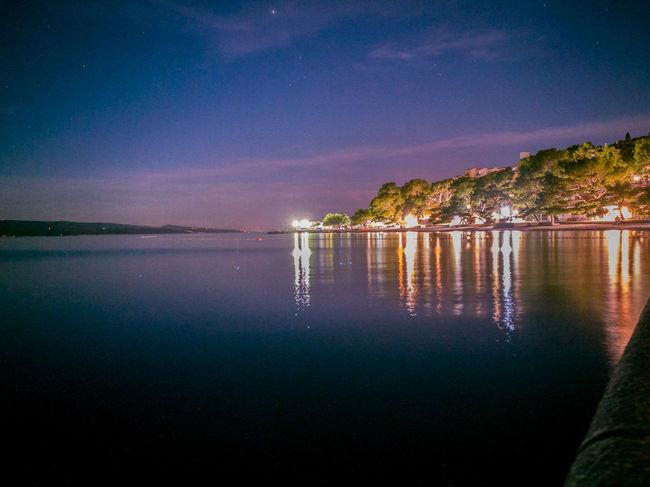 Brela  Baska Voda HuaweiP9 Night Sea