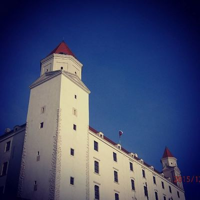Castle Bratislava Slovakia Pozsony Mik Sky Trip Europe