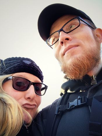 Couples Couple Bandpic Two People Beard Redhead Blonde Close-up Taking Pictures Self Portrait Selfie ✌ Love Cool Hanging Out IPhoneography