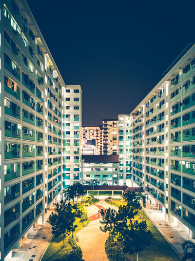 Architectural HUAWEI Photo Award: After Dark City Ghetto Apartment Politics And Government Cityscape Skyscraper Community Housing Development Business Finance And Industry Residential Building #urbanana: The Urban Playground