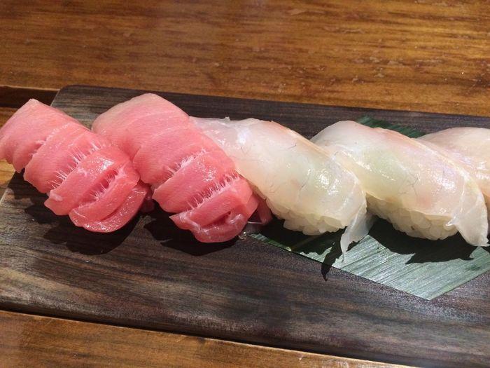 fresh sushi on