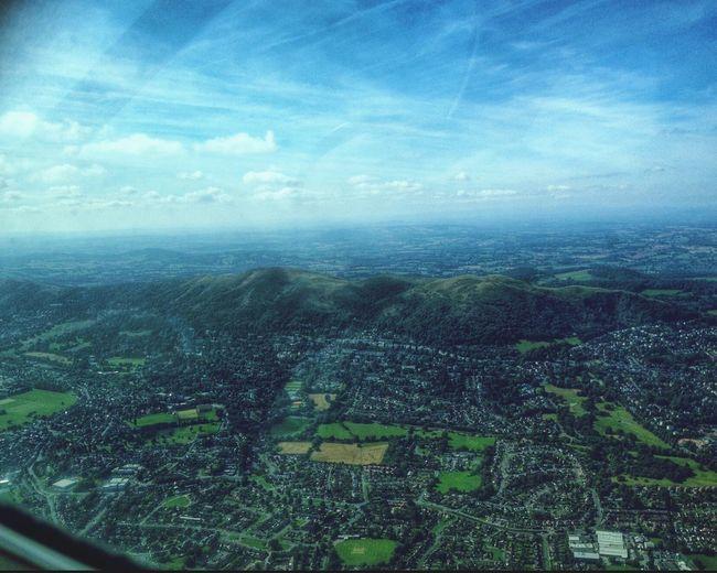 Flying High Over Malvern Hills