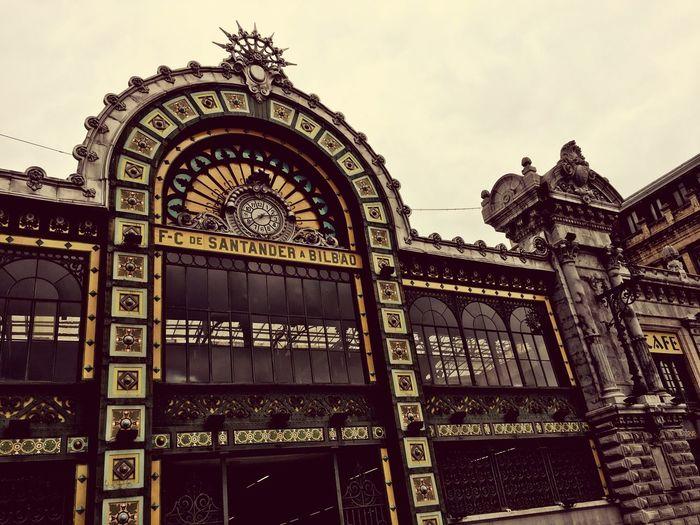 Bilbao. Estación la Concordia (Santander) Architecture Travel Destinations
