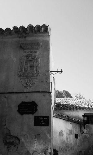 Old spanish architecture. Enjoying The Sights Walking Around Hola!