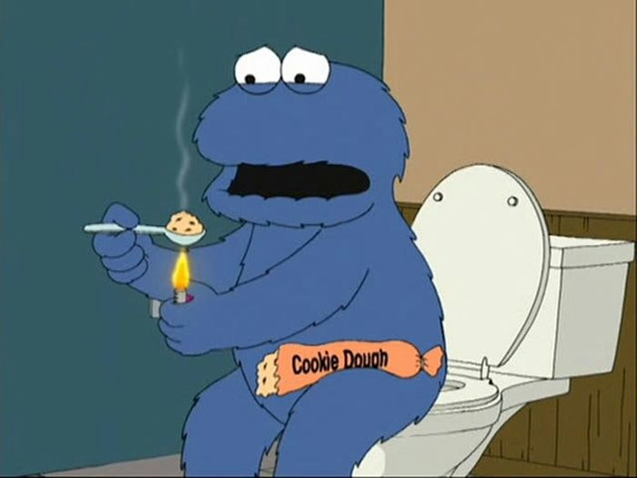 Cookie Monster In Rehab