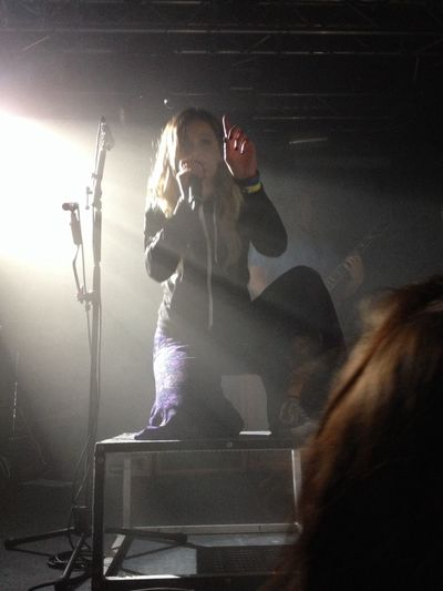 I was so close, second row from the front ?? Tonightalive JennaMcDougall Music Live Music