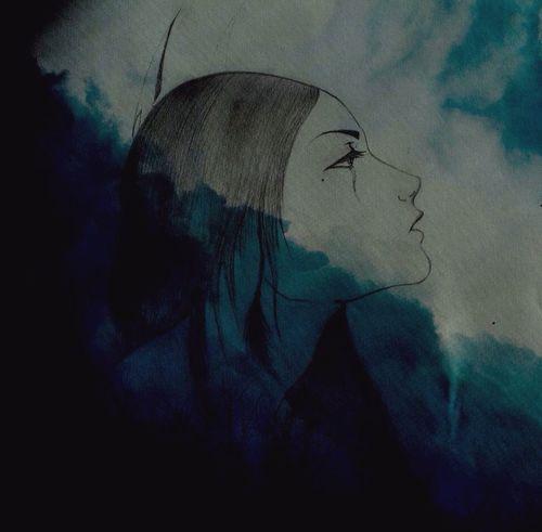Drawing Art Peace Solitude
