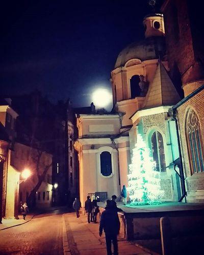 Pełnia Księżyc Swiatecznie OstrowTumski Wroclawbynight Poland Wrocław Bajecznie