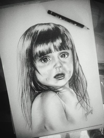 My drawing :) Check This Out Drawing Art ArtWork Art, Drawing, Creativity Girl Crying Crying Child Instagramer Myhobby